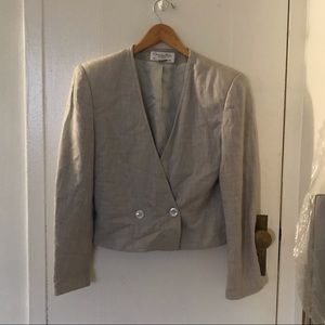 VTG Christian Dior Separates double breast blazer